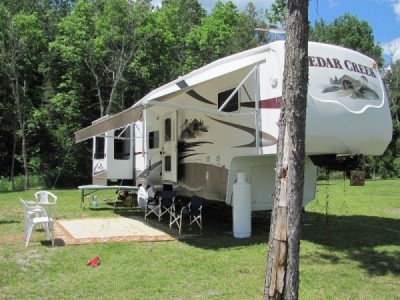 2008 Forest River Cedar Creek 37RDQS