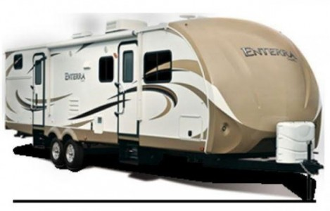 2014 Cruiser RV Enterra 3125BH