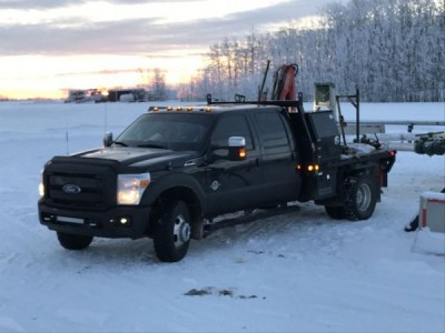 2015 Ford F-350 Picker Truck
