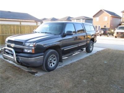 2005 Chevrolet  Silverado 1500 SLE 4x4