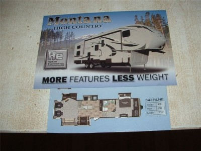2011 Montana High  Country 343 RLHE
