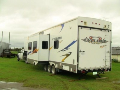 2008 Heartland Cyclone Toy Hauler 3795