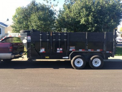 2014 Big Tex Tandem Gooseneck Dump Trailer