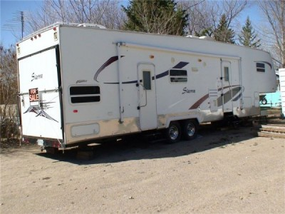 2004 Forest River Sierra Toy Hauler 37