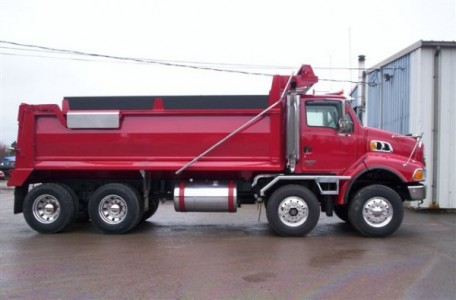 2007 Sterling  Tandem Steer Dump Truck with Simard axle