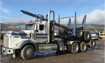2012 Kenworth T800 with Peerless Jeep