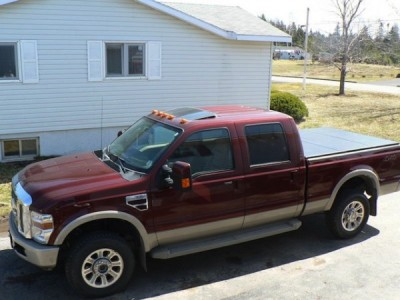 2008 Ford F-350 SD KING RANCH 4WD