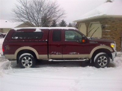 2011 Ford F-250 Extended Cab Lariat 4WD