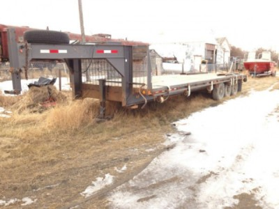 2005 Flatdeck Flatdeck Trailer 30Ft