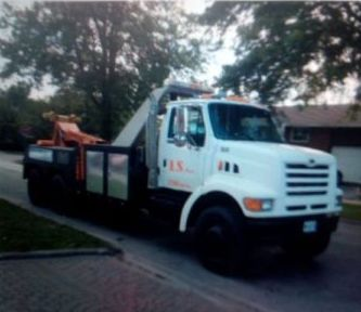 1998 Ford 25 Ton Tow Truck