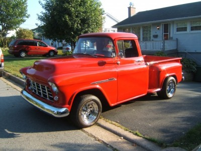 1955 Chevrolet 3100 2nd Series Shortbox