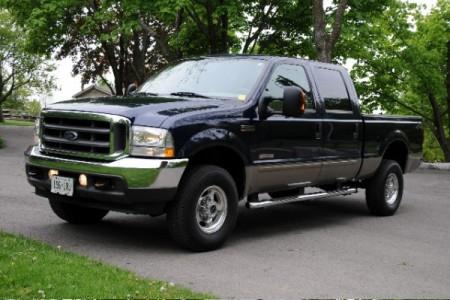 2003 Ford F-350 SD Crew Cab 4WD