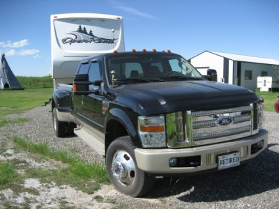 2008 Ford F-350 SD King Ranch DRW 4WD