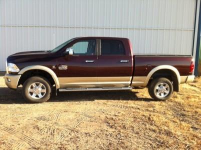 2012 RAM 2500 Laramie Longhorn Crewcab 4x4