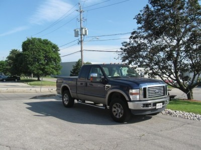 2008 Ford F-250 SD SuperCab Lariat 4WD