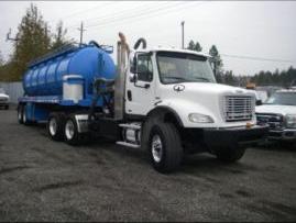 2009 Freightliner Vacuum Pump Truck