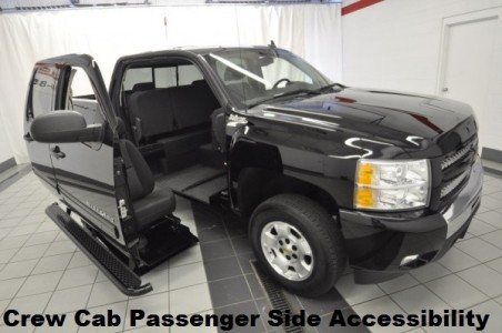 2010 Chevrolet Silverado 1500 LT Wheelchair Conversion