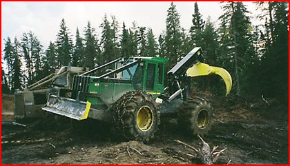 2005 JohnDeere 648 G111 Grapple Skidder