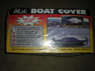 NEW MAC BOAT STORAGE COVER