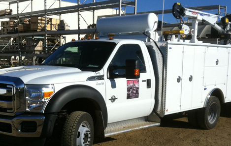 2012 Ford F-550 Picker Truck