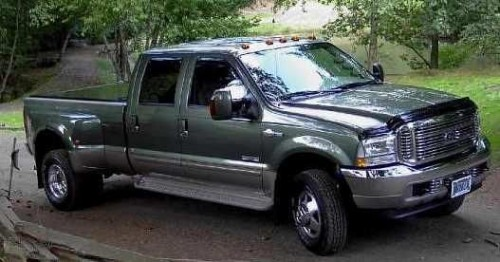 2004 Ford F-350 King Ranch Dually
