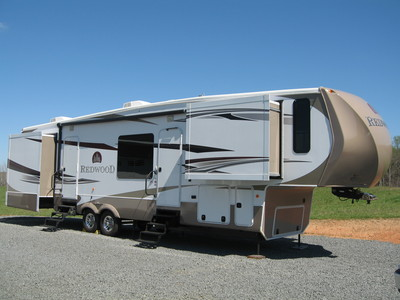 2012 Thor Redwood 36FL
